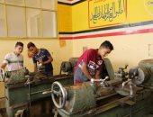 تدريب وتأهيل طلاب الدبلومات لدخول امتحانات الدور الثانى