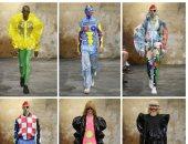 """ملابس البهلوانات فى عرض أزياء """"والتر فان"""" بأسبوع الموضة للرجال بباريس"""