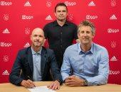 رسمياً.. أياكس الهولندى يجدد عقد تين هاج حتى يونيو 2022