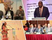 """ختام مؤتمر""""تحديات المدن الأفريقية"""".. الجلسات ناقشت تطلعات وهموم التنمية المحلية فى القارة الأفريقية.. الفعاليات استمرت 3أيام وأنتجت 17 توصية..دعم مبادرة""""إسكات البنادق""""والتعاون لتحقيق الأهداف"""