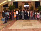 وفد الشباب الإفريقى يشيد بمجهودات الرئيس السيسى فى دعم الأشقاء الأفارقة
