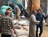 ضبط 5 طن دقيق بلدى داخل مصنع للأعلاف الحيوانية بالشرقية