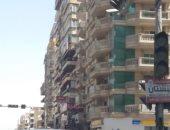 إشارة المرور بتقاطع شارع عباس العقاد فى مدينة نصر معطلة من 4 أشهر