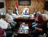 صور.. رئيس شركة مياه القاهرة يتفقد تمركزات فرق الصيانة الميدانية استعدادا لأمم أفريقيا