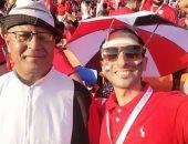 شارك سامى أحمد صحافة المواطن بصورة من استاد القاهرة