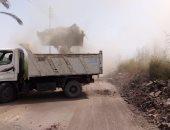"""رفع 30 طن مخلفات من طريق ترعة """"ساحل العديسات"""" فى الاقصر (صور)"""