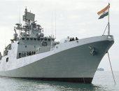 البحرية الهندية: نشر بارجتين حربيتين فى خليج عمان هدفه توفير السلامة
