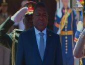 رئيس موزمبيق يزور المركز القومى لبحوث المياه بالقناطر الخيرية
