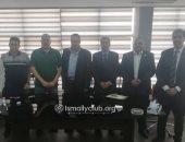 الإسماعيلى يوقع عقود المشاركة فى البطولة العربية