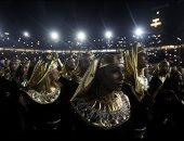 مشاركة فى حفل كأس الأمم: تدربت على الرقص الأفريقى مع ٤٢ راقصا