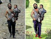 """ماذا لو عاش العالم بسلام؟.. تحويل المآسى الإنسانية لصور تضج بالحياة """"صور"""""""