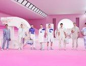 """""""البينك"""" يسيطر على عرض أزياء Dior لملابس الرجال فى ربيع 2020 بباريس"""