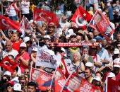 صور.. المعارضة التركية تحشد أنصارها فى اسطنبول قبل انطلاق انتخابات الإعادة