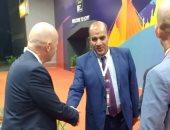 إنفانتينو يغادر القاهرة إلى لاجوس بعد حضور افتتاح امم افريقيا 2019