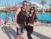 أحمد عيد يحتفل بعيد ميلاد زوجته على إنستجرام