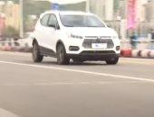 شاهد السيارات الكهربائية تجتاز اختبارات الأداء شمال غرب الصين