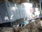 شكوى بالفيوم من انتشار القمامة وكشك كهرباء يشكل خطورة بجوار محكمة أطسا