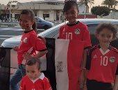 أطفال يشاركون صحافة المواطن احتفالات مصر بأمم أفريقيا