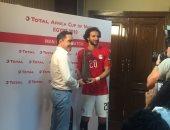 محمود علاء رجل مباراة مصر وزيمبابوي فى افتتاح الكان