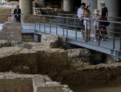 على أطلال أثينا القديمة.. متحف يونانى يسمح بالتجول بين أحياء أثرية اكتشفت أسفله