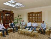 محافظ أسيوط يلتقى نائب رئيس الهيئة القومية لمياه الشرب والصرف الصحى