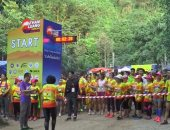 سباق خيرى احتفالا بالذكرى السنوية الأولى على إنقاذ أطفال الكهف فى تايلاند