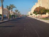 رئيس جهاز مدينة السادات: تطوير شارع أبو بكر الصديق بطول 7 كيلو