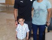 الطفل مريض السرطان يطلب حضور مباريات منتخب مصر .. ومقابلة مرتضى منصور
