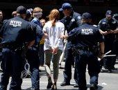 حملة اعتقالات فى نيويورك بحق متظاهرين ضد مخاطر التغير المناخى