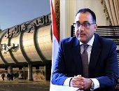 رئيس وزراء السودان يصل القاهرة ومدبولى يستقبله بالمطار