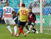 كولومبيا تتقدم على باراجواي بهدف فى الشوط الأول من كوبا أمريكا.. فيديو