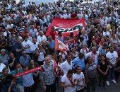 صور.. احتفالات فى شوارع إسطنبول بفوز مرشح المعارضة وسقوط حزب أردوغان