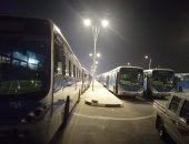 صور.. خطوط النقل العام تستعد لنقل جماهير مباراة الجزائر وكينيا