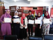 وكيل تعليم شمال سيناء تكرم 11 طالب وطالبة من أوائل الإعدادية بالمحافظة