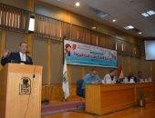 """""""دور الشباب فى بناء الدولة"""" ندوة توعوية بمعسكر إعداد القادة بجامعة أسيوط (صور)"""