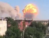 إصابة 8 أشخاص فى انفجار عبوة ناسفة بمركز للشرطة فى سانتياجو بتشيلى
