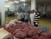 ضبط 1700 كيلو لحوم مصنعة فاسدة فى حملة بالشرقية (صور)