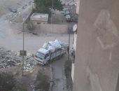 سكان منطقة الطوب الرملى بمدينة نصر يشكون من أكوام القمامة والمخلفات