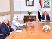 السيسى يستعرض تفعيل منظومة التأمين الصحى الشامل ببورسعيد