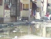 """صور..اضبط مخالفة.. مياه المجارى تغرق منطقتى """"خديجة """"و""""الحراسات"""" ببورسعيد"""
