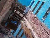 شكوى أهالى قرية المويسات البصيلية بأسوان من غرق الشوارع فى المياه الجوفية