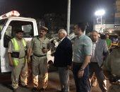 محافظ الدقهلية يصادر 32 توكتوك فى حملة مرورية ليلية