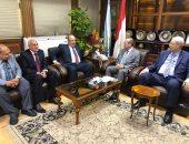 صور.. محافظ كفر الشيخ يستقبل رئيس مجلس الدولة ويفتتحان المبنى الجديد