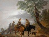 """""""الذهاب إلى السوق فى الصباح"""" لوحة لـ توماس جينزبورو للبيع.. ثمنها مفاجأة"""