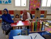 صور.. مدارس النيل المصرية تجرى المقابلات الشخصية للطلاب المرشحين