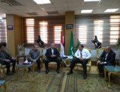 محافظ الشرقية يستقبل وفد مجلس الوزراء لمتابعة نسب تنفيذ المشروعات بالمحافظة