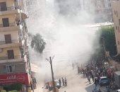 إصابة 6 فى حريق هائل بمول خاص بالمفرشات بمدينة المنصورة