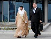 صور..بومبيو يغادر الإمارات بعد جلسة مباحثات مع ولى عهد أبو ظبى