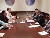 وزير الاتصالات يعقد اجتماعات مع شركات ألمانية للتعاون فى الذكاء الاصطناعى