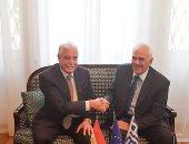 سفير اليونان بالقاهرة يستقبل محافظ جنوب سيناء بمقر السفارة اليونانية